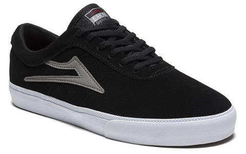 Lakai Sheffield Mens Skate Shoes - Black/Grey