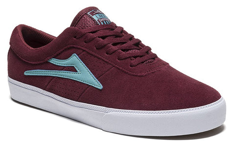 Lakai Sheffield Mens Skate Shoes - Burgundy