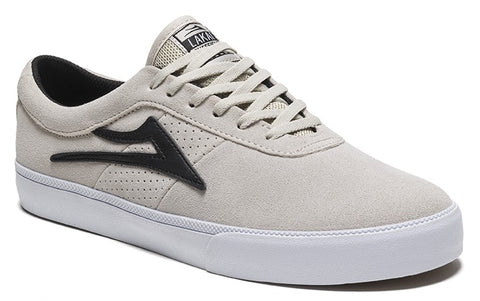 Lakai Sheffield Mens Skate Shoes - White/Black