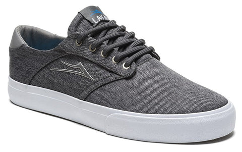 Lakai Porter Mens Skate Shoes - Charcoal