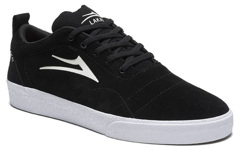 Lakai Bristol Mens Skate Shoes - Black/White