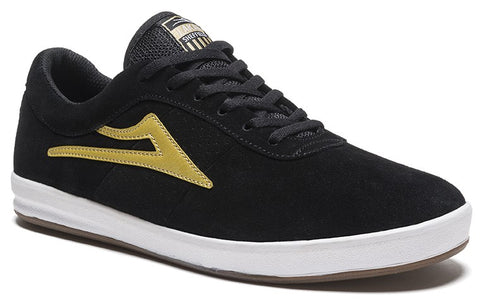 Lakai Seffield XLK Mens Skate Shoes - Black/Gold