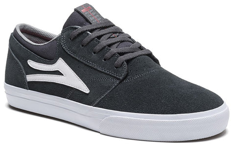 Lakai Griffin Mens Skate Shoes - Charcoal