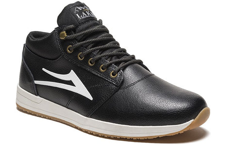 Lakai Griffin Mid Mens Skate Shoes - Black