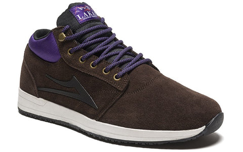 Lakai Griffin Mid Mens Skate Shoes - Chocolate