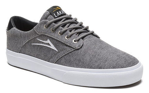 Lakai Porter Mens Skate Shoes - Grey