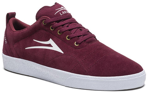 Lakai Bristol Mens Skate Shoes - Burgundy