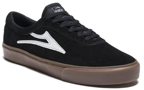 Lakai Sheffield Mens Skate Shoes - Black/White