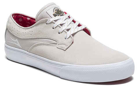 Lakai Riley Hawk x Indy Collab White Mens Skate Shoes