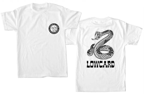 Concrete Lodge x Lowcard Mens Short Sleeve Shop Tees