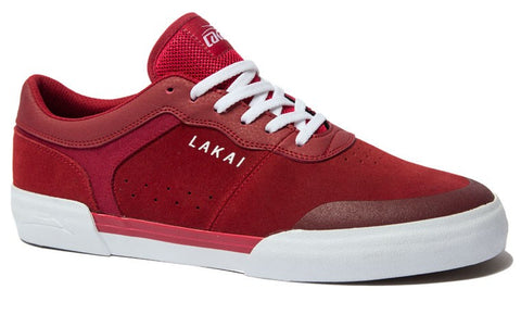 Lakai Staple Mens Skate Shoes - Red