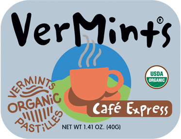 VerMints UK Organic Cafe Express Pastilles