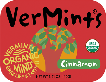 Vermints UK Organic Cinnamon Breath Mints