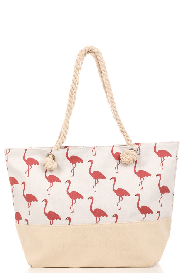 Fabulous Flamingos Tote Bag
