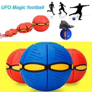 Magic UFO – FrisBall in Blue, Green and Orange