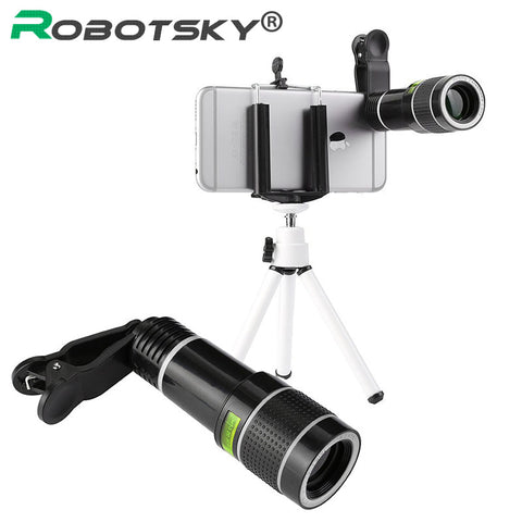 Telescope Camera Lens for iPhone  & Samsung