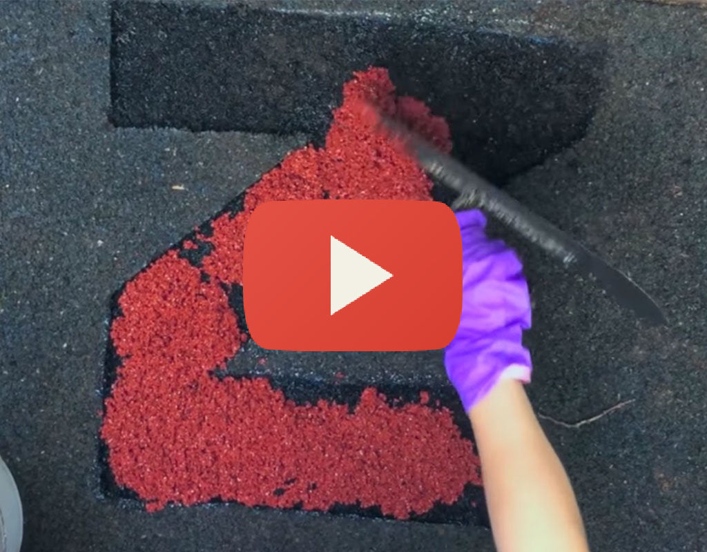 How to Repair Your Playground's Poured in Place Rubber Flooring