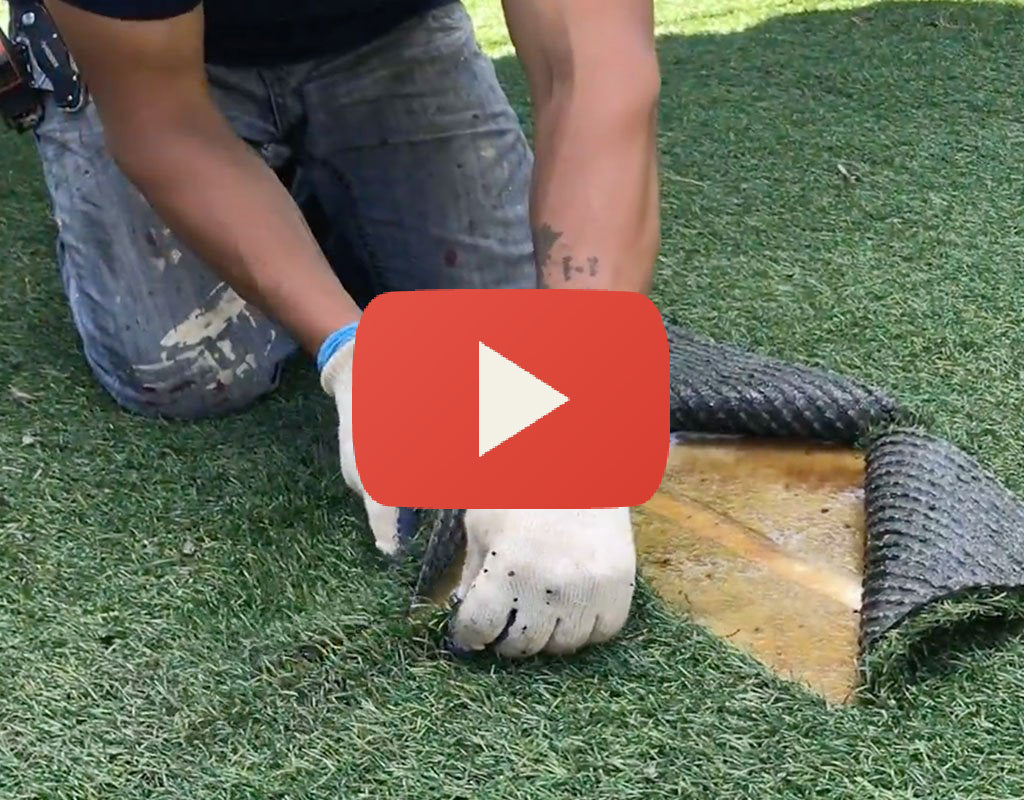 How to Fix a Hole In Your Playground Synthetic Turf