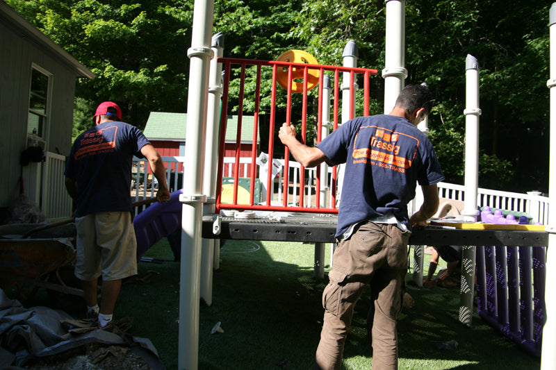 Playground installation checklist