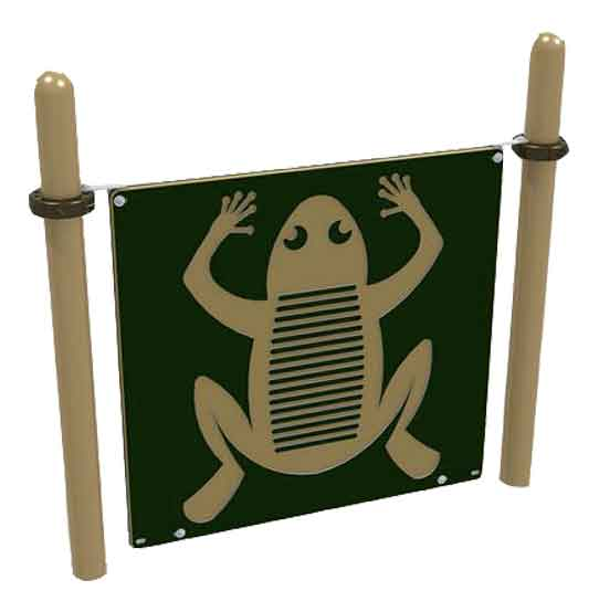 Playground replacement panels for existing playground composite playsets