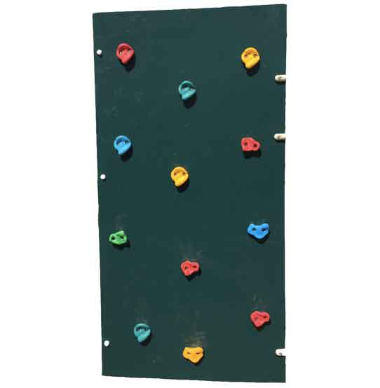 Replacement climbers for existing composite playground playsets
