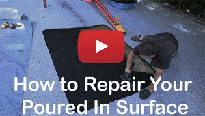 How to repair your poured in place rubber playground flooring surface