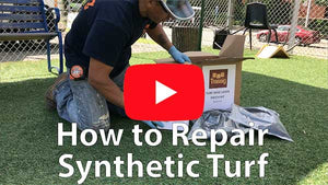 How to repair synthetic turf for all turf surfacing areas