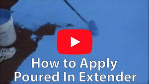 How to apply poured in place extender to increase the lifespan of your poured in place rubber surface and fix any existing damage