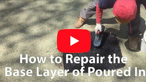 How to repair the base layer of your poured in place safety surfacing system to keep your playground flooring functional and protective