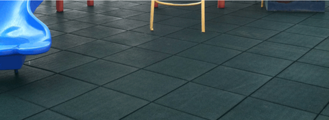 playground rubber tile surfacing
