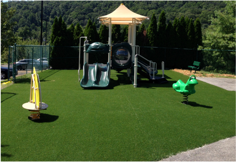 playground synthetic turf surfacing