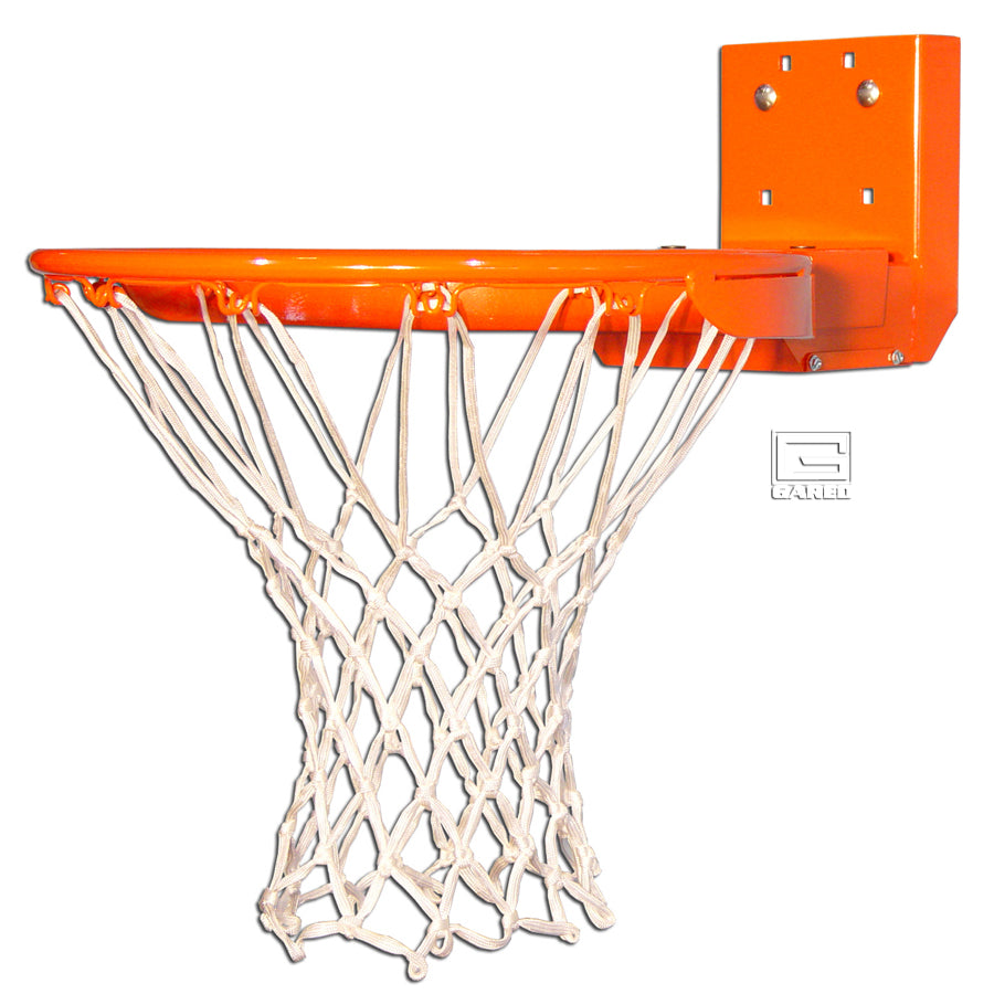 6600 Nylon Net Scholastic Rear Mount Breakaway Basketball Rim