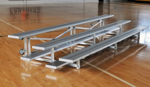 Tip and Roll Bleacher