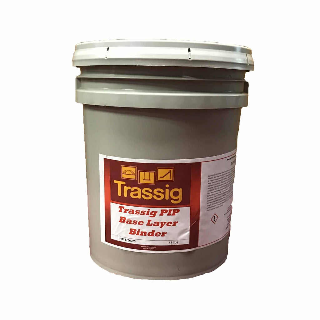 Base layer binder is used as an adhesive for rubber buffings or base layer that is under Poured in Place Rubber EPDM
