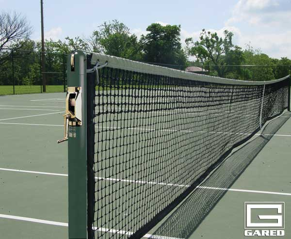 "3"" Round Competition Tennis Posts"