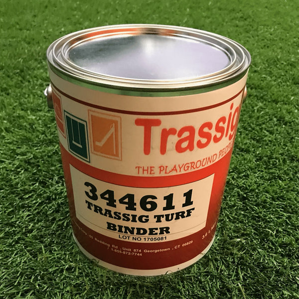 Our Turf Seam Binder is clear, non-toxic, and long-lasting.