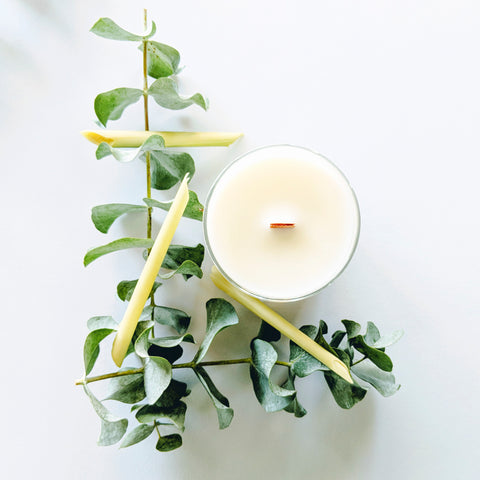 lemongrass all natural candle