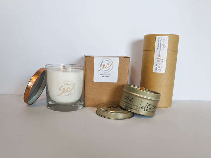 Effuse candles product line