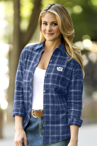 Women's Blue Flannel