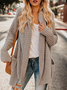 Ficcia Loose Long Sleeve Cardigan