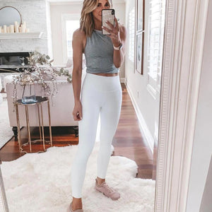 Ficcia Simple Fashion Yoga Lounge Jogger Pants Set