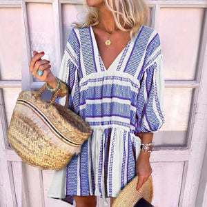 Ficcia Sunshine Loose Casual Mini Dress