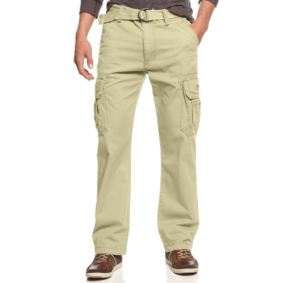 Men's Survivor Belted Cargo Pants - Oboapparel Egypt