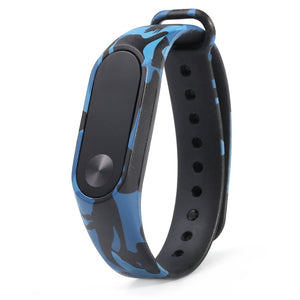 Camouflage Pattern Watch Band for Xiaomi Mi band 2 - Oboapparel Egypt