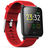 Q9 Colorful Screen Waterproof Sports Smart Watch for Android / iOS with Heart Rate Monitor Blood Pressure Functions - Oboapparel Egypt