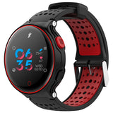 Microwear X2 Plus Smart Watch Bluetooth 4.0 IP68 Waterproof Touch Key Sedentary Reminder Sleep / Heart Rate Monitor Pedometer - Oboapparel Egypt