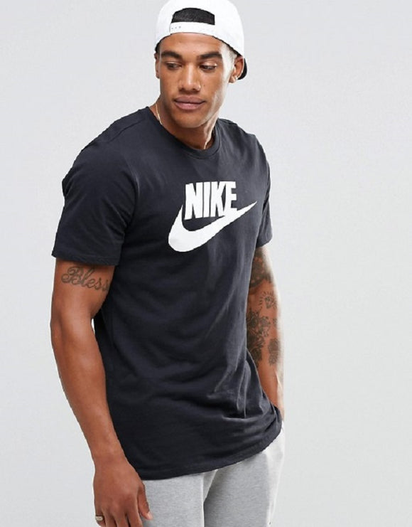 Nike Futura Icon Black T-Shirt Mens - Oboapparel Egypt