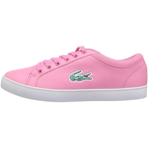 LACOSTE Junior Straight Lace 118 Leather Trainers - Oboapparel Egypt