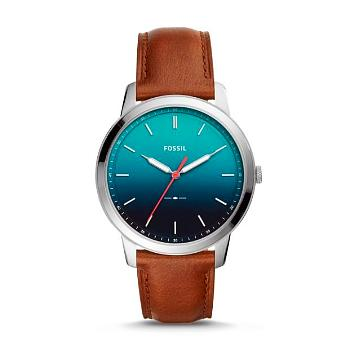 The Minimalist 3-Hand Brown Leather Watch - Oboapparel Egypt