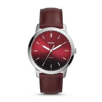 The Minimalist 3-Hand OxBlood Leather Watch - Oboapparel Egypt